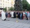 Молебна за упокой душ погибших в году войны кузбассовцев