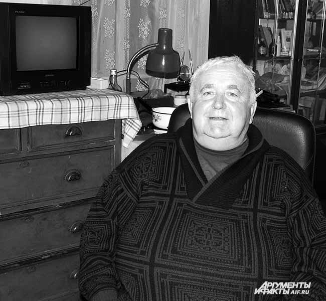 2011 г. Потомок коммунаров, хранитель архива  Борис Гросбейн