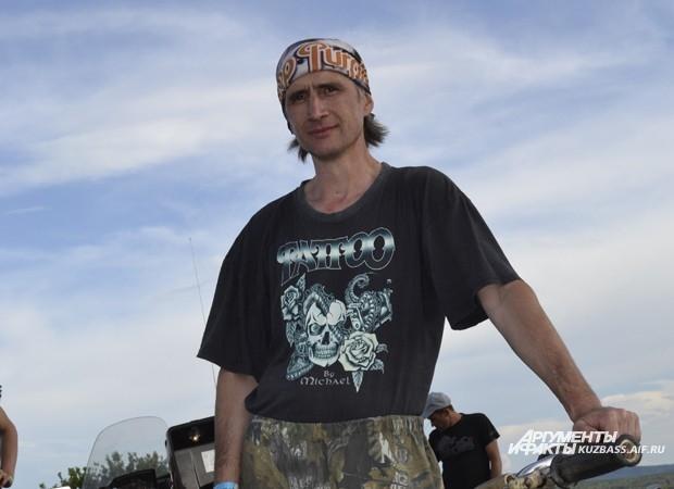«Сибирский раздолбайкер» из пос. Инской Виталий Аксененко - победитель 2013 года