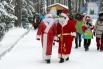 Конкурсанты - Деды Морозы между собой оказались очень дружны