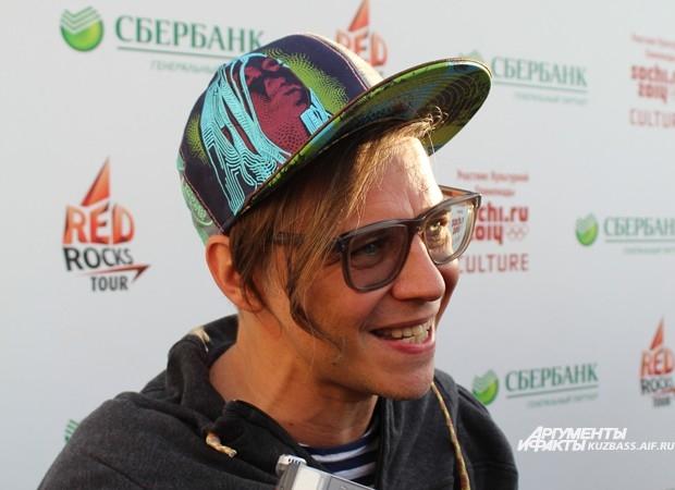 Илья Лагутенко готов подарить публике массу положительных эмоций