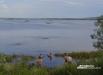 Гости феста не удержались от соблазна искупаться в озере