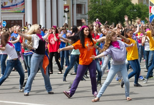 Подобная акция прошла в Красноярске, Новосибирске, Томске и Омске