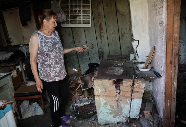 Во многих домах села разрушены печи и печные трубы