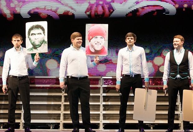 В конкурсе попыталась принять участие делегация кемеровских КВНщиков
