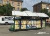 Кажется на трамвайную остановку «Кировский универмаг» вот-вот приплывет гондола и отправится в Венецию
