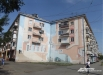 Масштабное творение студентов местного университета искусств. Жилые дома (ул. Красноармейская, 124, ул. Дзержинского, 13)