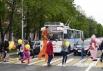 Люди искусства уважают правила дорожного движения