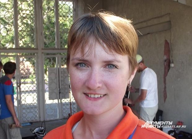 Александра Дёмина (Новокузнецк) - бронзовый  призер женского турнира по стрельбе из блочного лука
