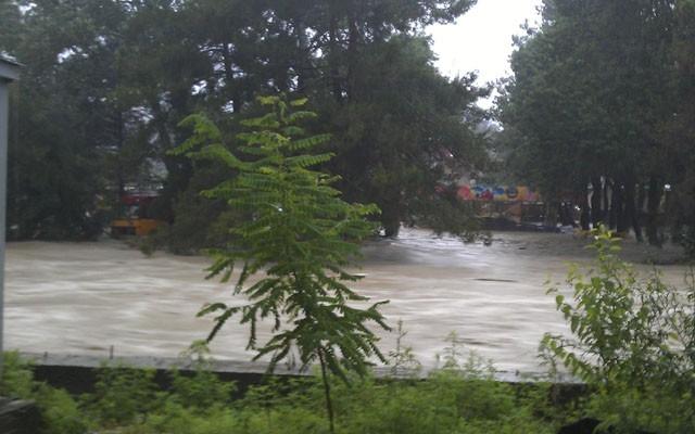 Наводнение в Дивноморске