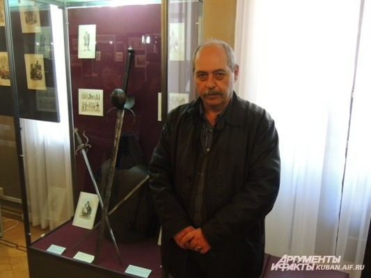 Шпага д'Артаньяна: в Краснодаре проходит выставка европейских оружейников