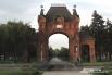 Царские ворота у памятника Святой Екатерине. Фото: Алина Менькова