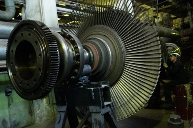 Расширенный текущий ремонт турбины №8 на Красноярской ТЭЦ-1.