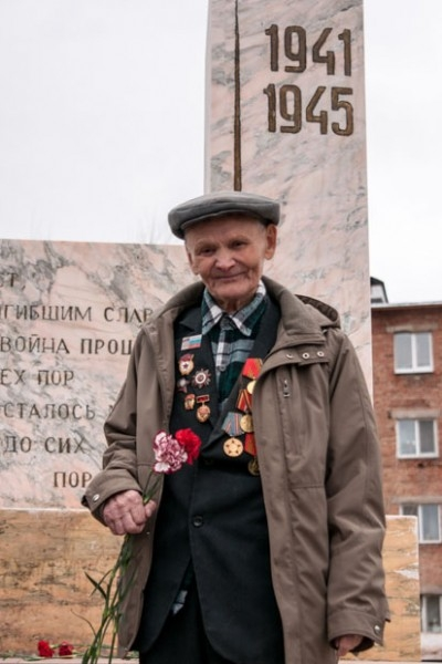 Петр Заболоцкий - участник Курской и Сталинградской битв.