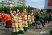 Участники карнавала очень приветливые
