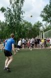 В состязании по волейболу участвовало около 57 команд