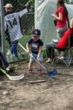 Юное поколение берет пример со своих родителей. А вдруг будущий чемпион?