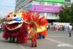 В карнавале принимали участие и разные народности, проживающие на территории Красноярска