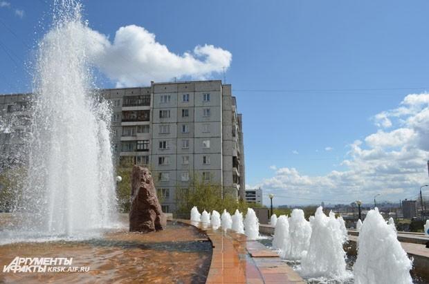 Фонтан на Копылова