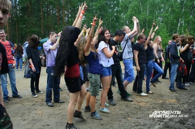 Красноярские зрители не скупятся на позитивные эмоции.