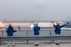 Олимпийский огонь в Красноярском крае