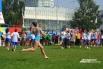 Спортивные коллективы продемонстрировали свои умения зрителям