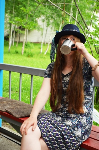 Одно из ярчайших впечатлений из КЛШ - на учебных занятиях можно пить кофе!