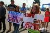 Молодое поколение тоже отреагировало на происшествия в Красноярске