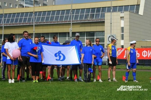 Команда отдела полиции №7, Железнодорожный район - доблестные участники соревнований