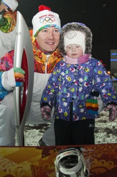 Олимпийский огонь в Красноярском крае. Запомнится на всю жизнь.