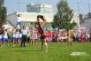 Акробатические этюды гимнасток завораживали всех от мала до велика