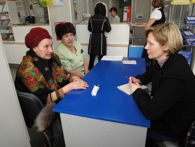 С жителями общалась главный редактор «АиФ-НН» Ольга Морозова