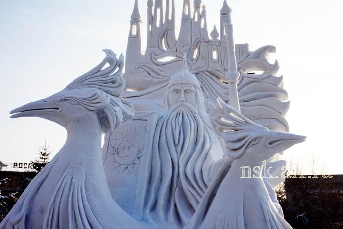 Победитель фестиваля - скульптура «Русь Богатырская»