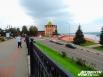 Около Георгиевской башни теперь стоит памятнику Чкалову