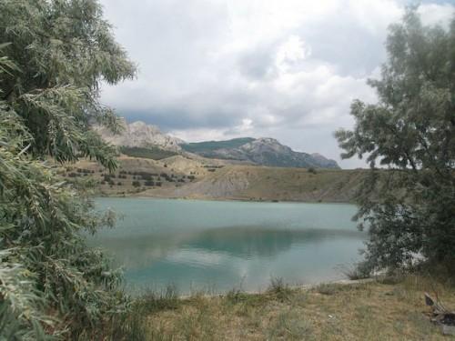 Озеро в Солнечной долине