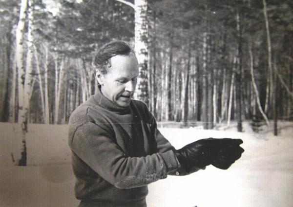 А. Каптаренко, конец 1960-х годов, Новосибирск