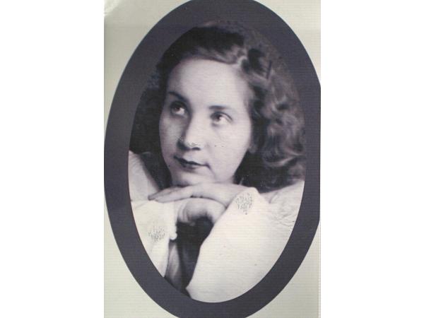 Маргарита Петровна - вторая жена Александра. Середина 1940-х годов, Новосибирск