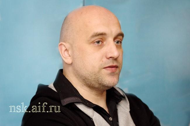 Писатель Захар Прилепин - автор текста для «Тотального диктанта»-2012