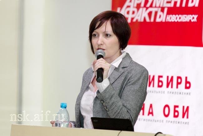 Главный редактор Аиф на Оби Наталья Агафонова