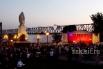 Открытие памятника Александру III в парке «Городское начало» в ночь с 22 на 23 июня