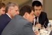 Евгений Менялов управляющий   директор ЗАО КБ  Кедр Западно-Сибирского региона, Юрий иванов (Росбанк)