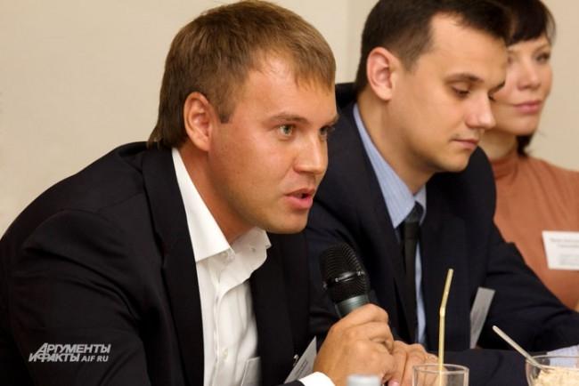 Григорий Присяжный замдиректора новосибирского филиала ОАО Мой банк