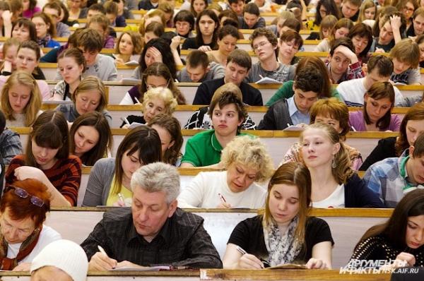 «Тотальный диктант» написали 3470 новосибирцев