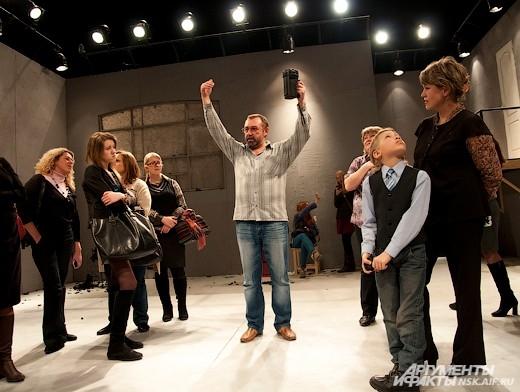 Экскурсия по театру. Сцена большого зала.