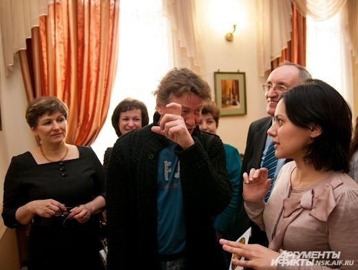 Актер Юрий Дроздов рассказывает о том, как снимал выставочные работы.