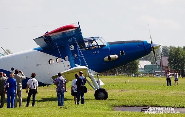 В рамках мероприятия также была открыта выставка вертолётов и самолётов лёгкой авиации