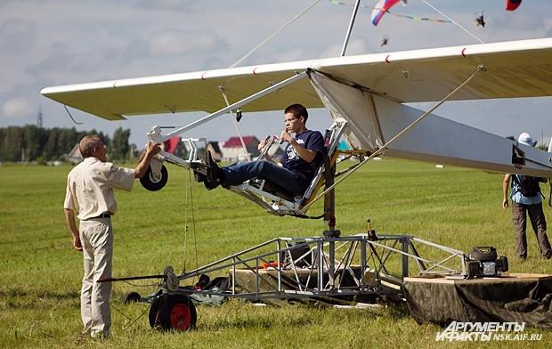 Попробовать себя в роли летчика мог любой желающий.