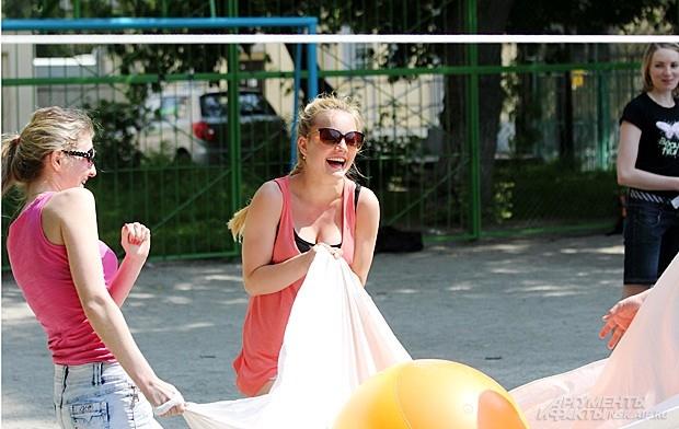 Е. Топоркова: «Это волейбол, но…»