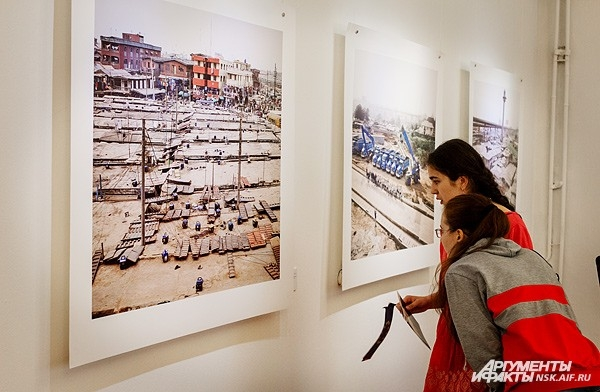 «Город. От рождения к забвению» - выставка, ставшая одним из  центральных мероприятий Ночи