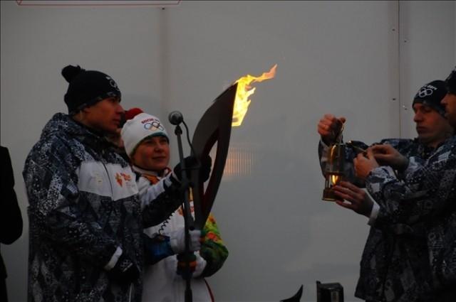 Зажжение факела